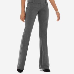Limited Gray Cassidy Fit Trousers